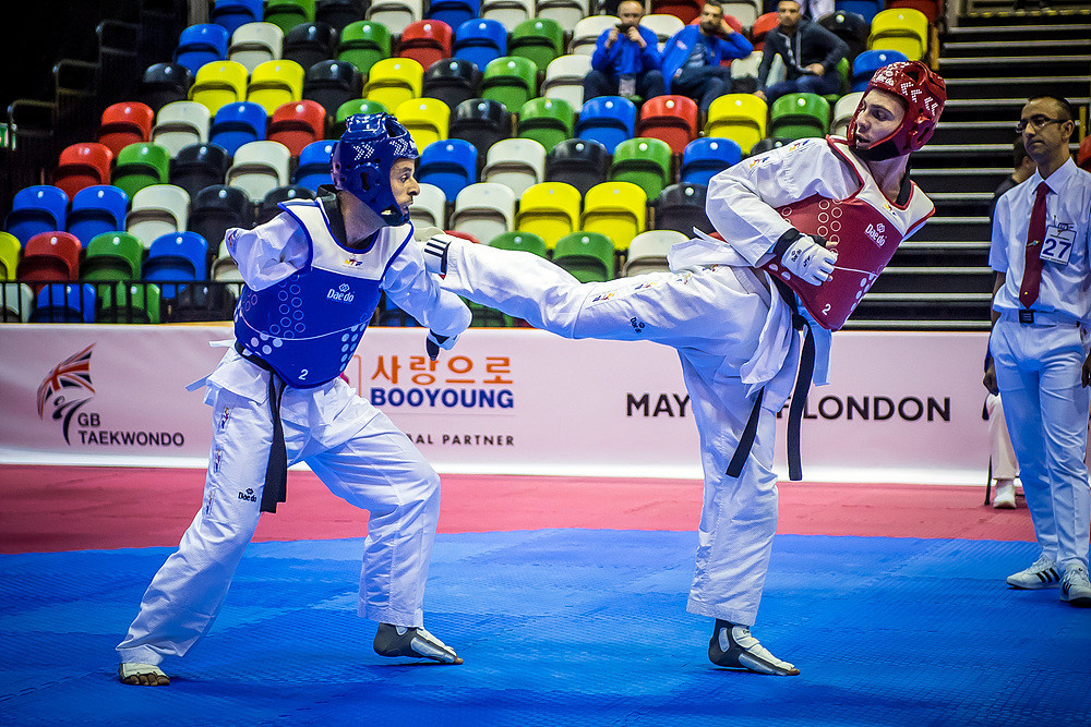 One of their victories coming courtesy of Evegenii Alifirenko in the men's K42 under 61kg category ©World Taekwondo