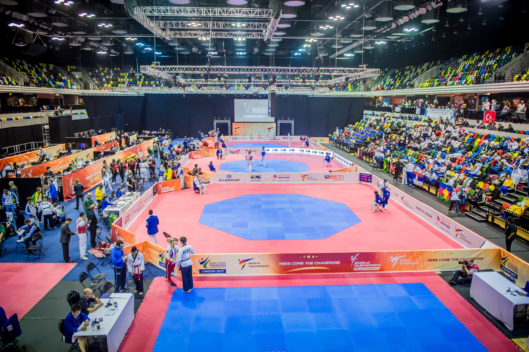 Action at the Copper Box Arena is due to continue tomorrow with the opening day of the World Taekwondo Grand Prix series event ©World Taekwondo