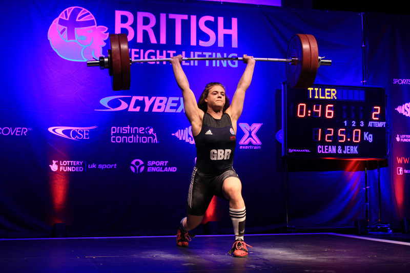 Britain's Rebekah Tiler was missing from Durrës after her funding was cut by UK Sport ©British Weightlifting