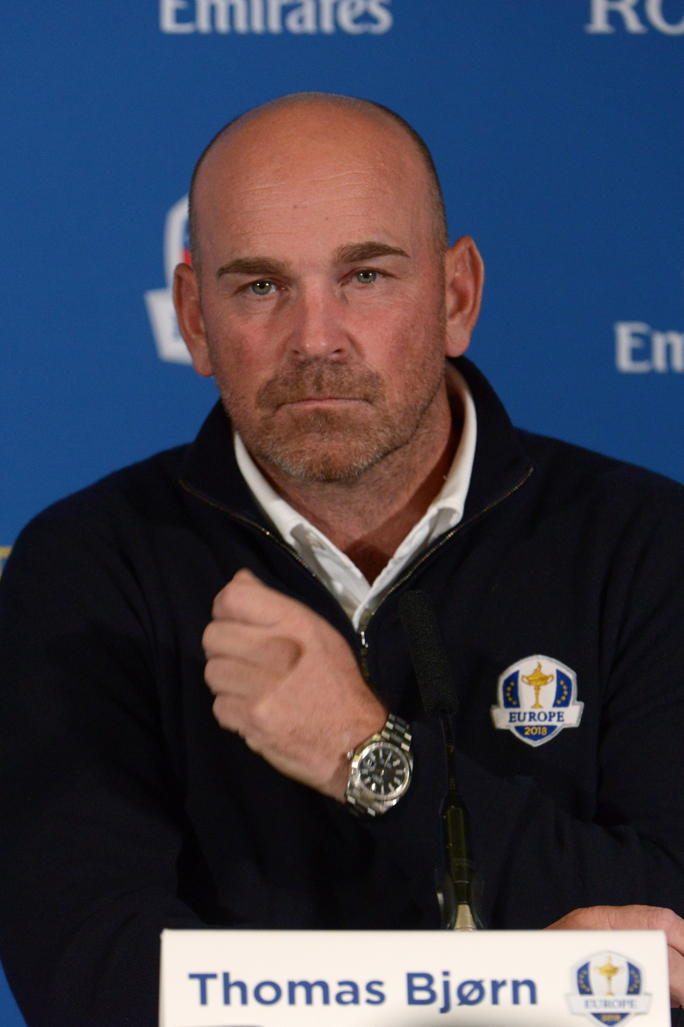 Denmark's Thomas Bjørn, who will captain the Europe team for the 2018 Ryder Cup  ©Getty Images