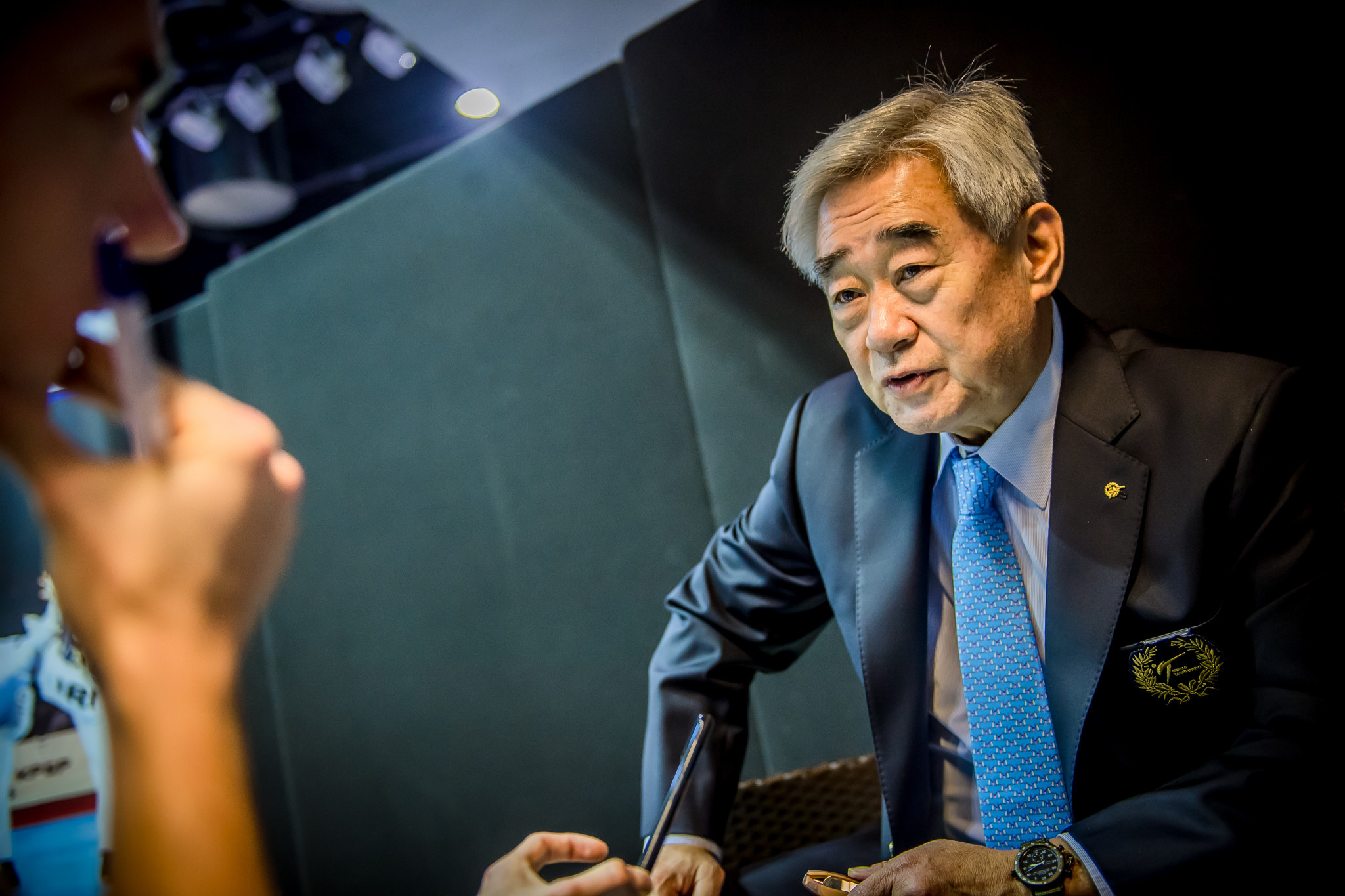 World Taekwondo, which is led by President Chungwon Choue, received a