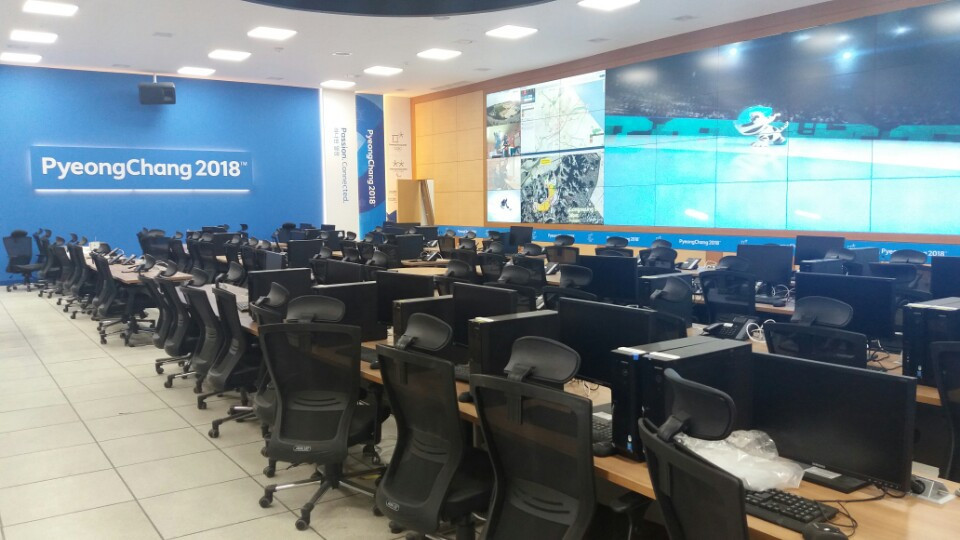 Second upgrade stage of Pyeongchang 2018 Main Operations Centre complete