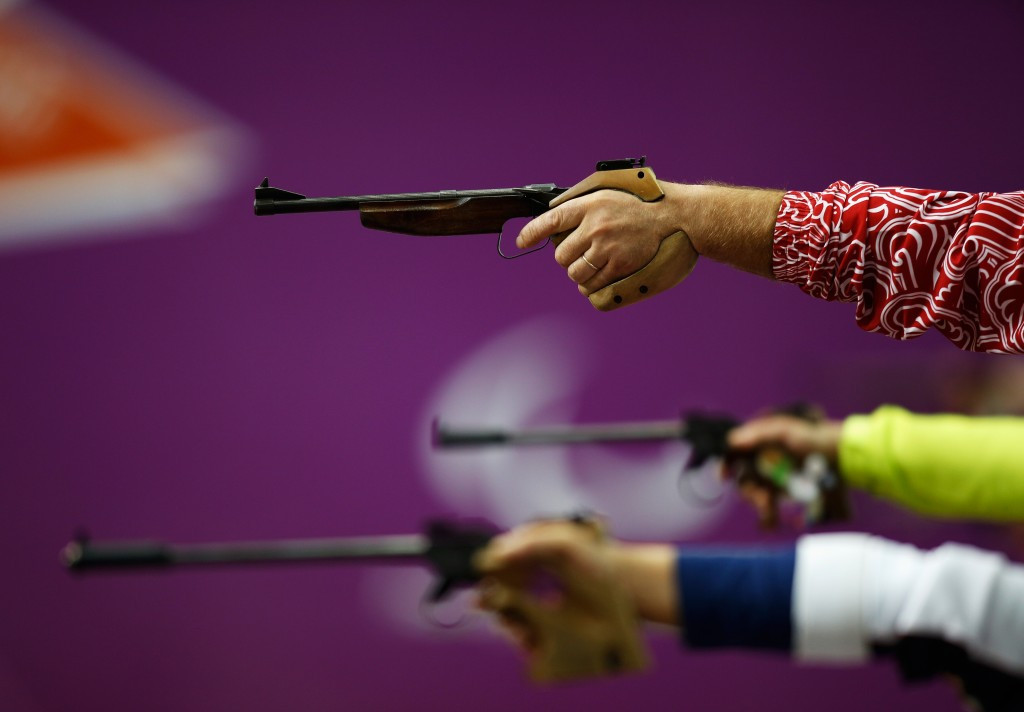 Uzbekistan's Server Ibragimov took a surprise victory at the IPC Shooting World Cup in Szczecin ©Getty Images