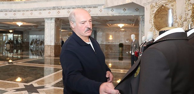 Lukashenko approves Belarus uniforms for Pyeongchang 2018