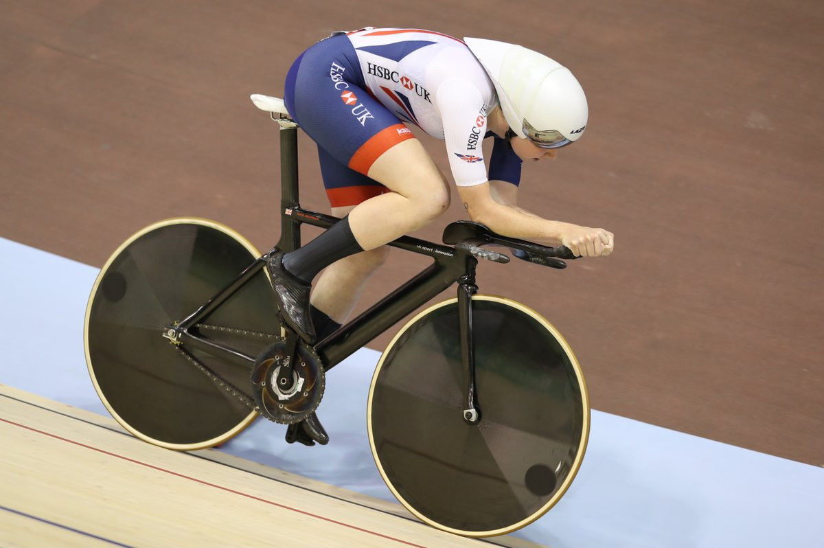 Archibald claims fourth successive European individual pursuit crown