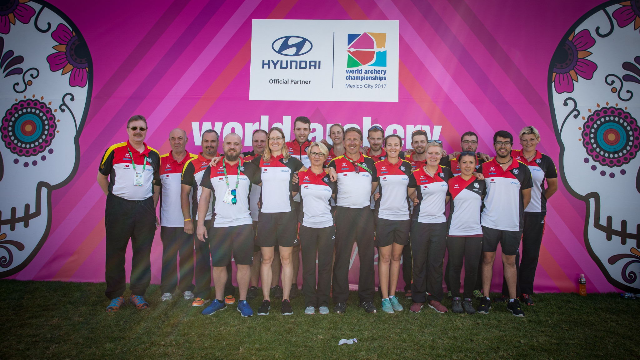 Germany reached both the compound and recurve mixed team finals on a successful day for the country at the World Archery Championships in Mexico City ©World Archery