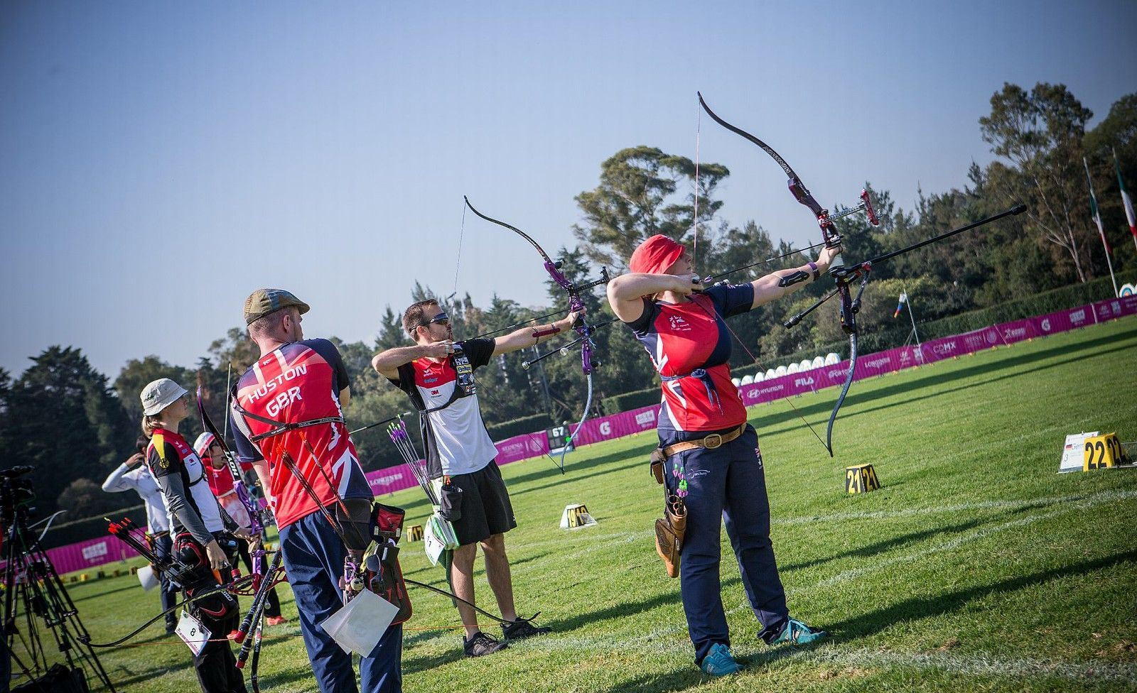 Day six of the World Archery Championships featured a packed mixed team schedule ©World Archery