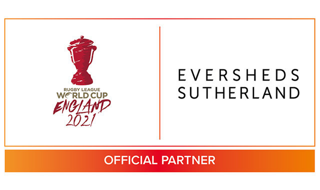 Eversheds Sutherland to be legal advisers to Rugby League World Cup 2021