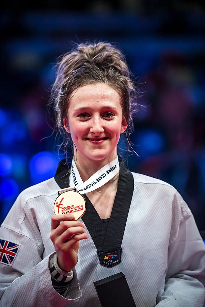 Williams' triumph came on only her second-ever Grand Prix appearance ©World Taekwondo