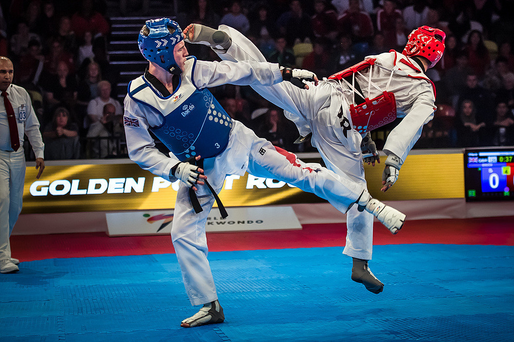 The Jordanian beat Great Britain's Bradly Sinden in the final to the disappointment of the home crowd ©World Taekwondo