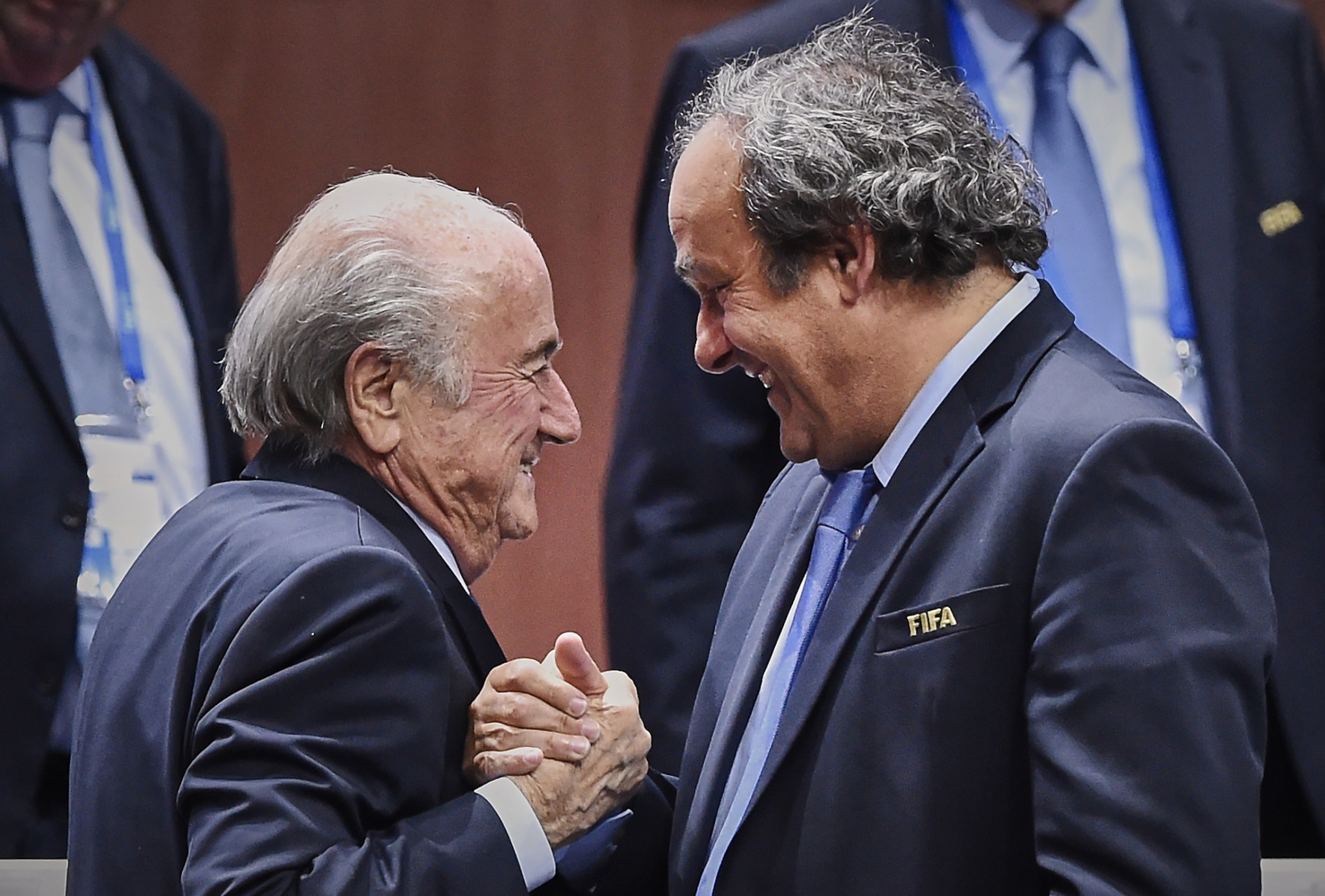 Russia to welcome Blatter and Platini to 2018 FIFA World Cup