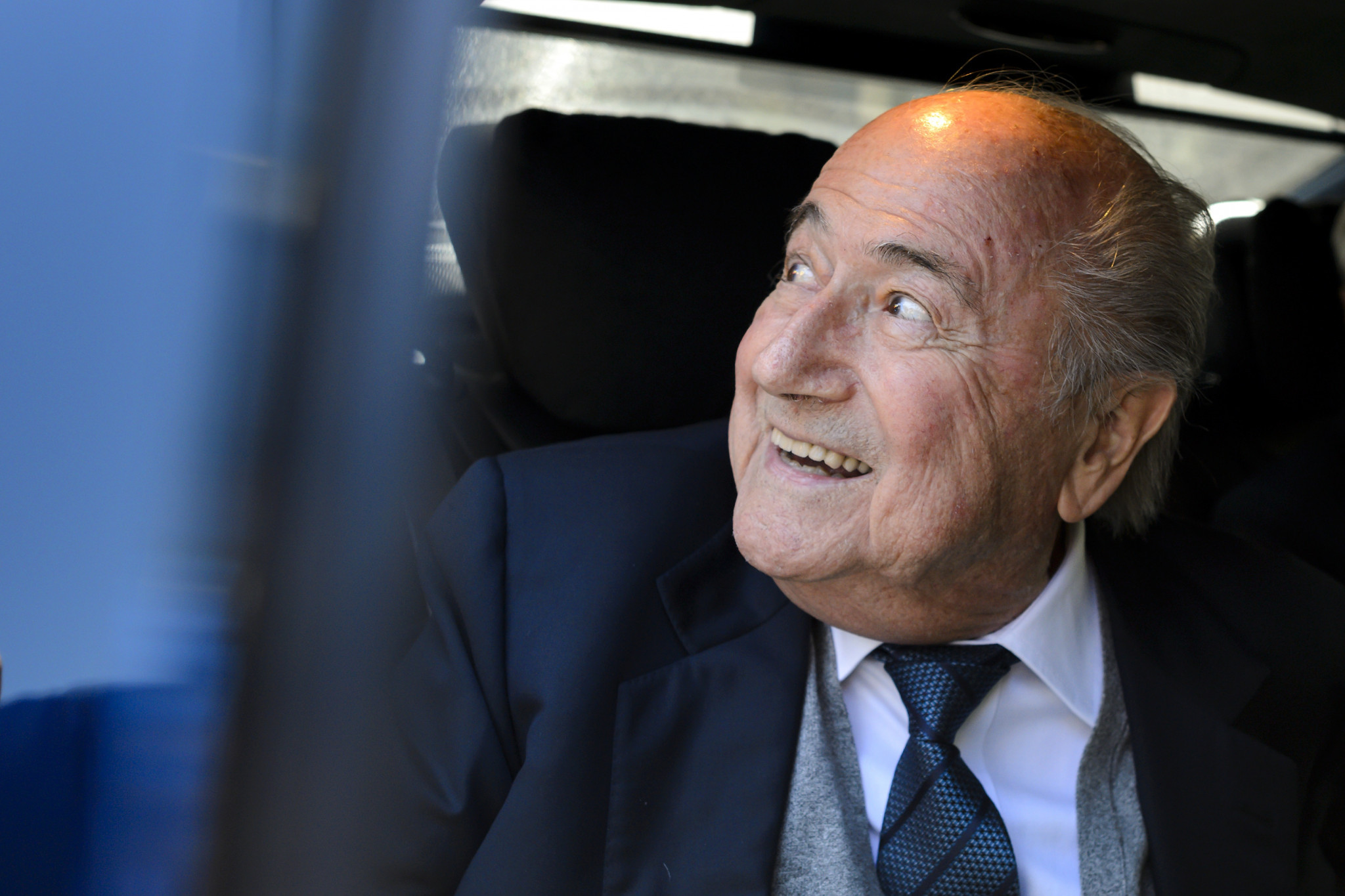 Sepp Blatter is serving a six year ban from all soccer-related duties imposed by FIFA's Ethics Committee ©Getty Images