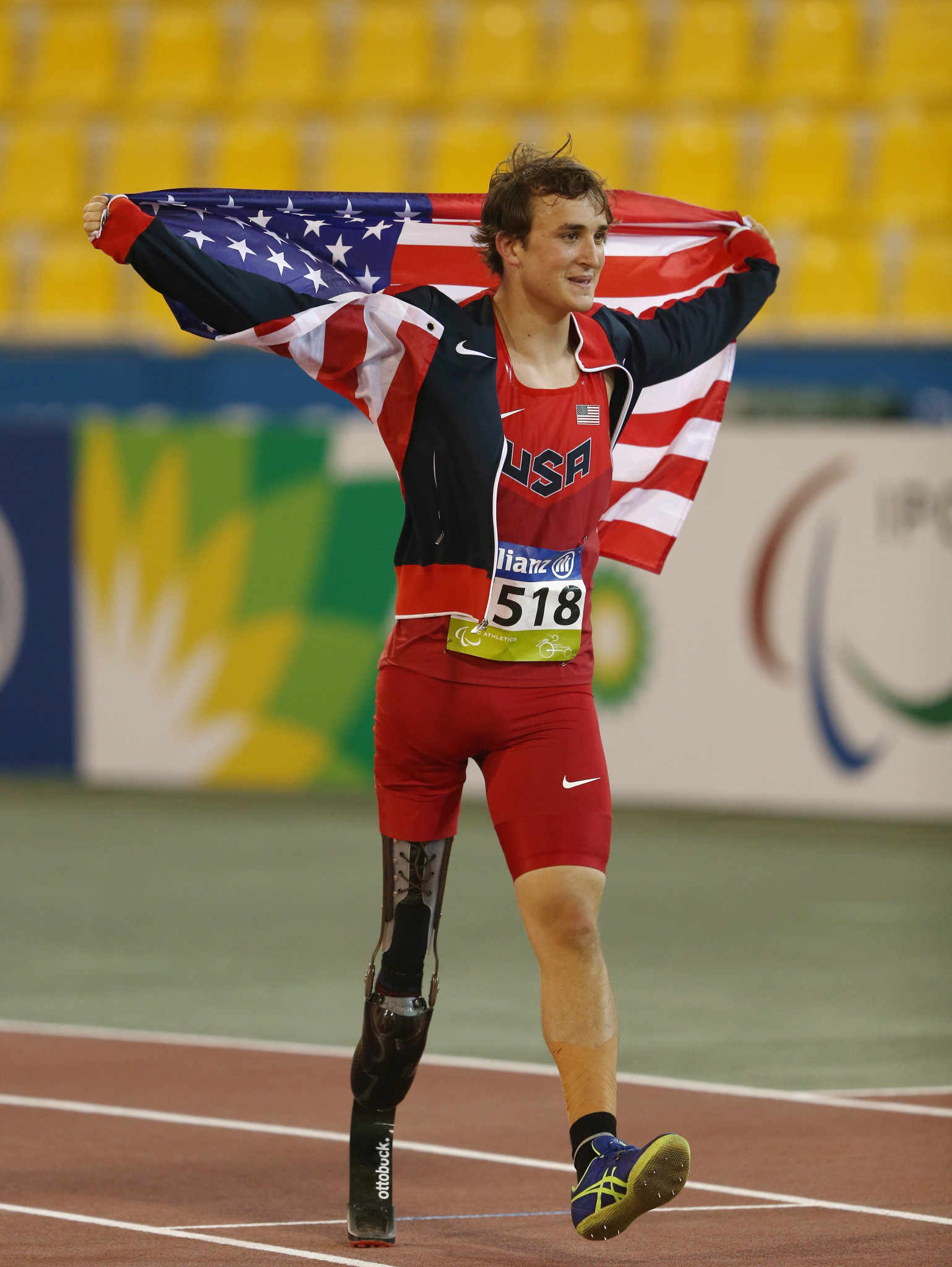High jumper Sam Grewe has earned his way onto the All-American list for the fourth time ©Getty Images
