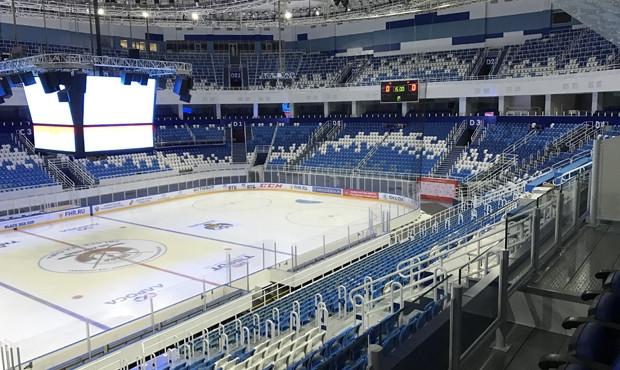 The Iceberg Skating Palace is set to play host to the 2017 World Sambo Championships ©FIAS
