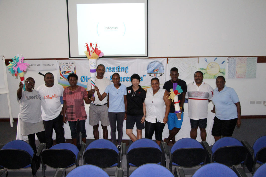 Seychelles Olympic and Commonwealth Games Association host week-long workshop