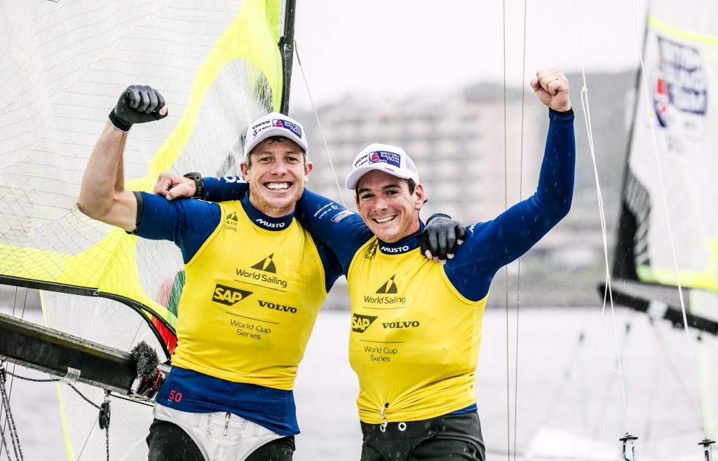First medallists crowned at Sailing World Cup in Gamagori