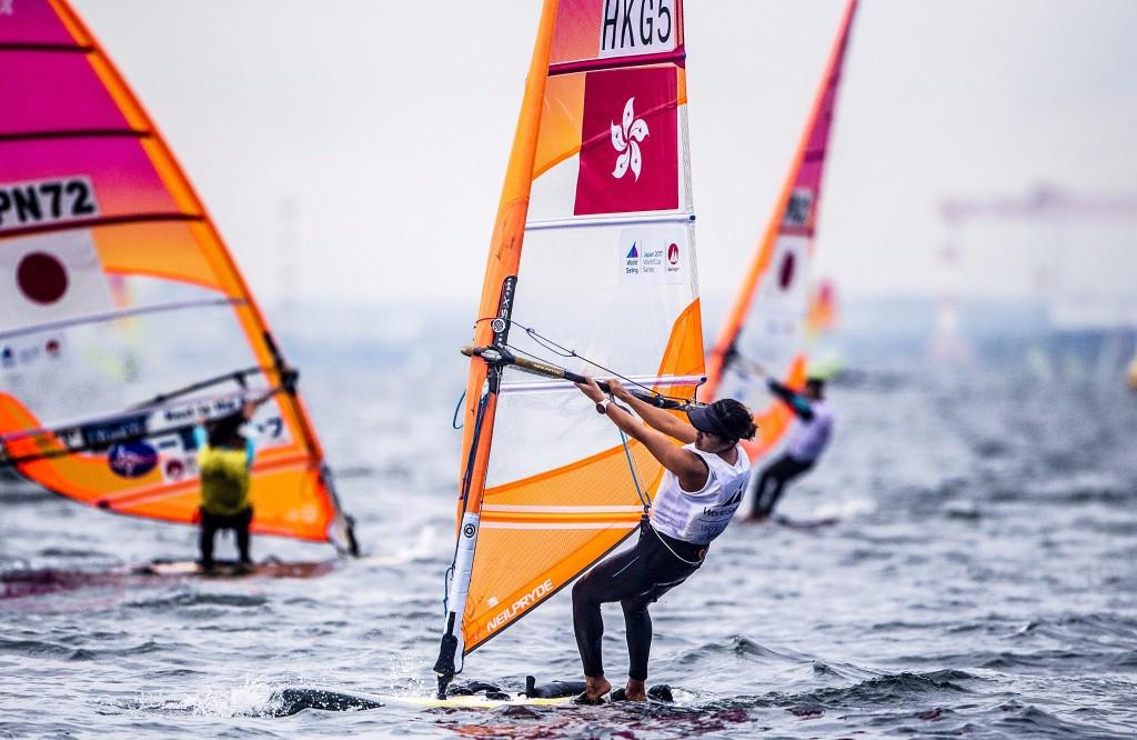 Hong Kong's Hei Man Chan won the women's RS:X title ©World Sailing