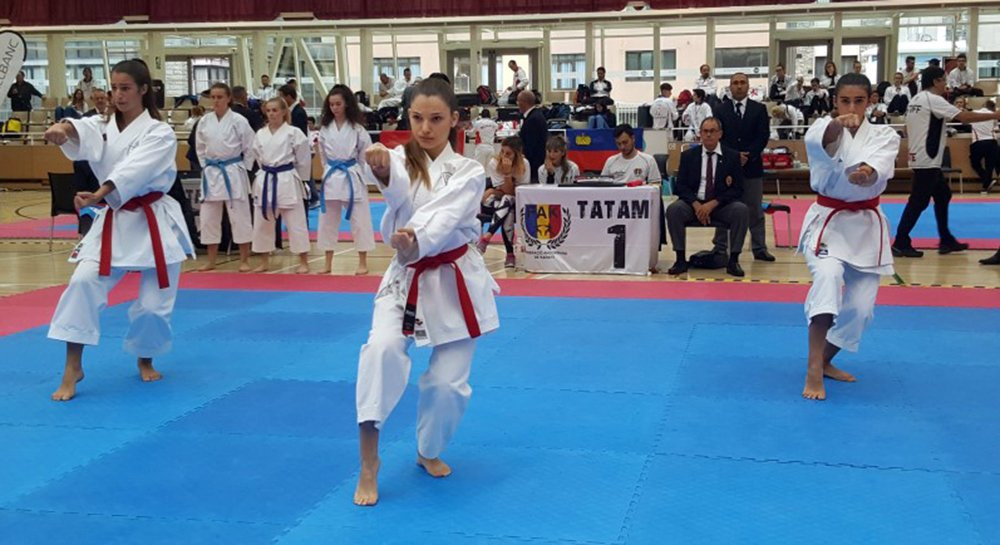 Andorra hosted seven visiting nations at the competition ©WKF