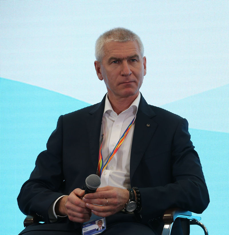 FISU President discusses future of sport at World Festival of Youth and Students