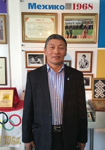 Ts. Nerguibaatar headed the Mexico City 1968 Olympic Council delegation ©OCA