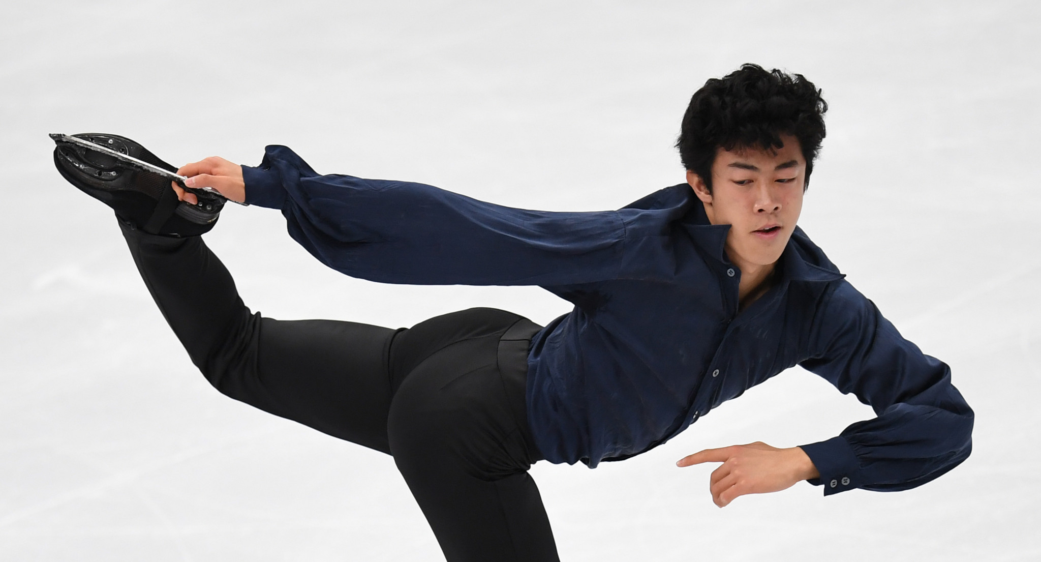 Chen wins men's event at ISU Grand Prix of Figure Skating in Moscow