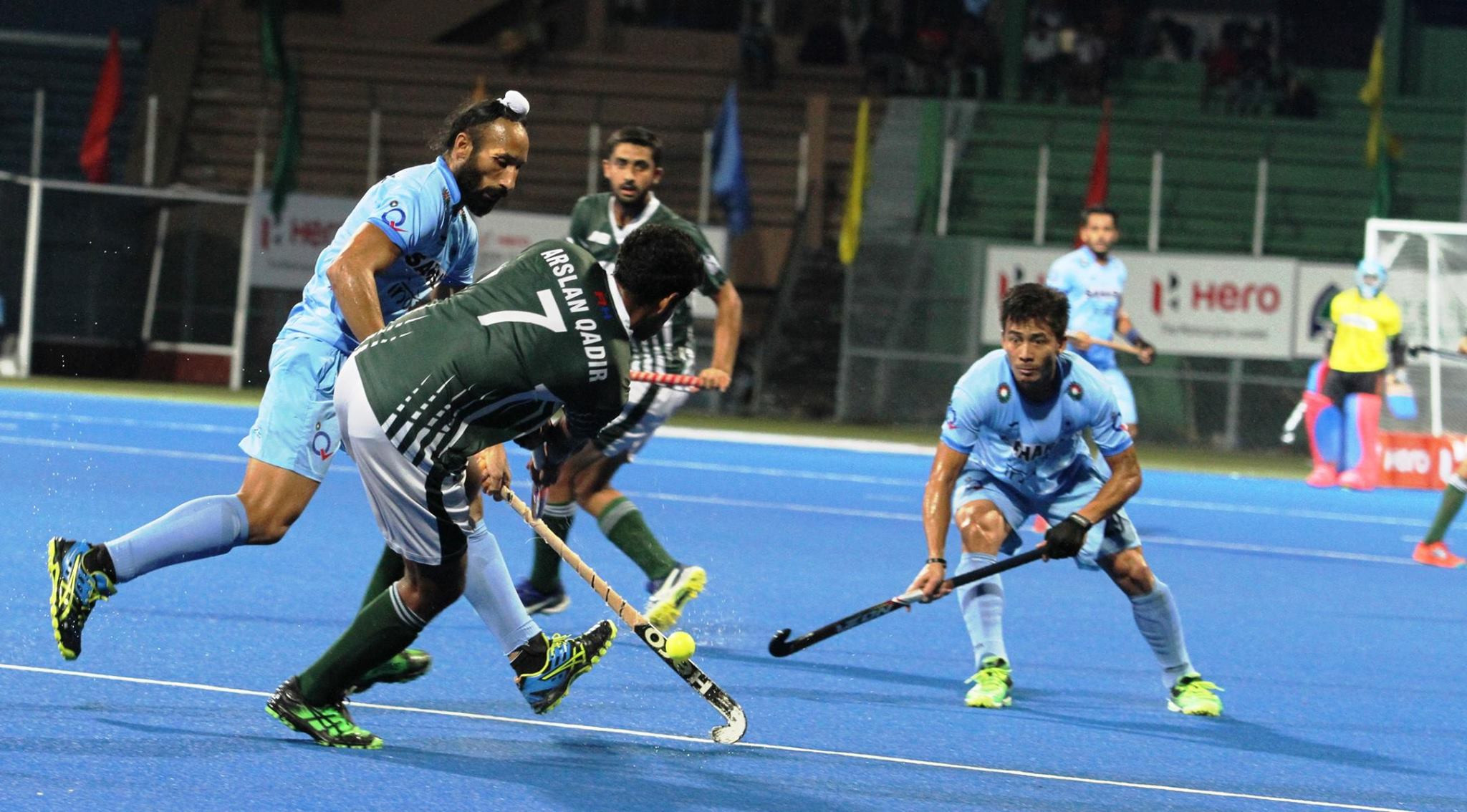 India beat rivals Pakistan to reach Asia Hockey Cup final