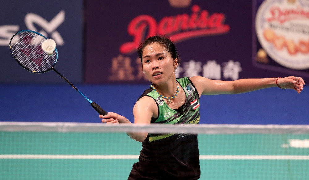 Ratchanok Intanon knocked out the top seed in the women's singles ©BWF