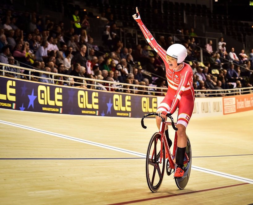 Schmidt adds to golden haul at European Track Cycling Championships