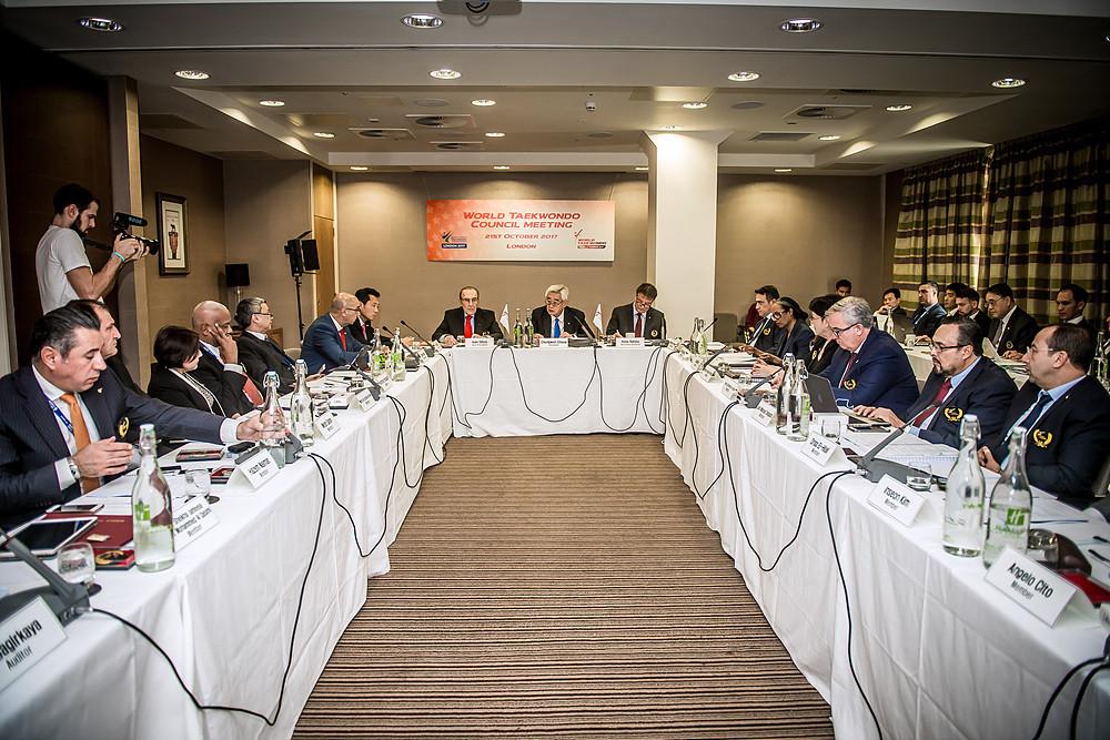 World Taekwondo President highlights good governance as priority at Council meeting