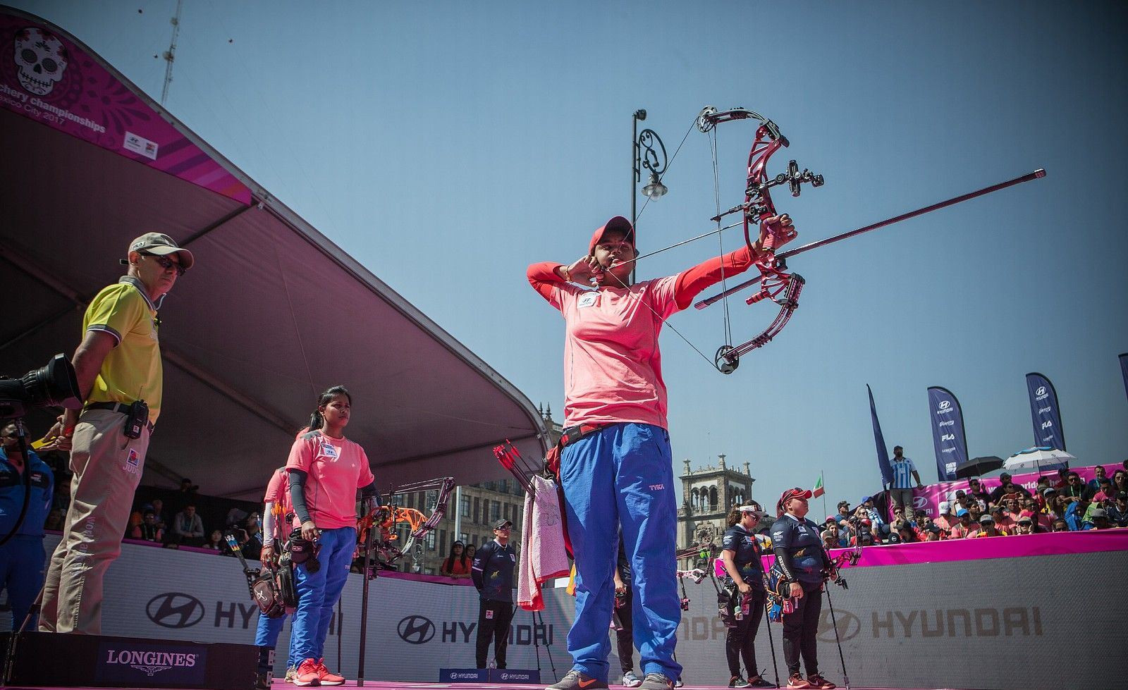 The penultimate day of competition at the World Archery Championships focused purely on compound events ©World Archery
