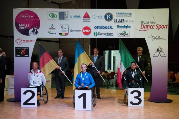 Sivak claims emotional victory at World Para Dance Sport Championships in Malle