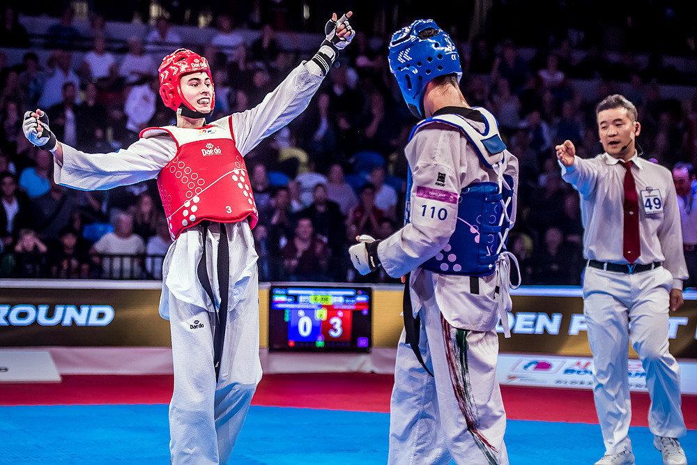 A three-point score in golden point proved decisive following a 0-0 draw in regulation time ©World Taekwondo