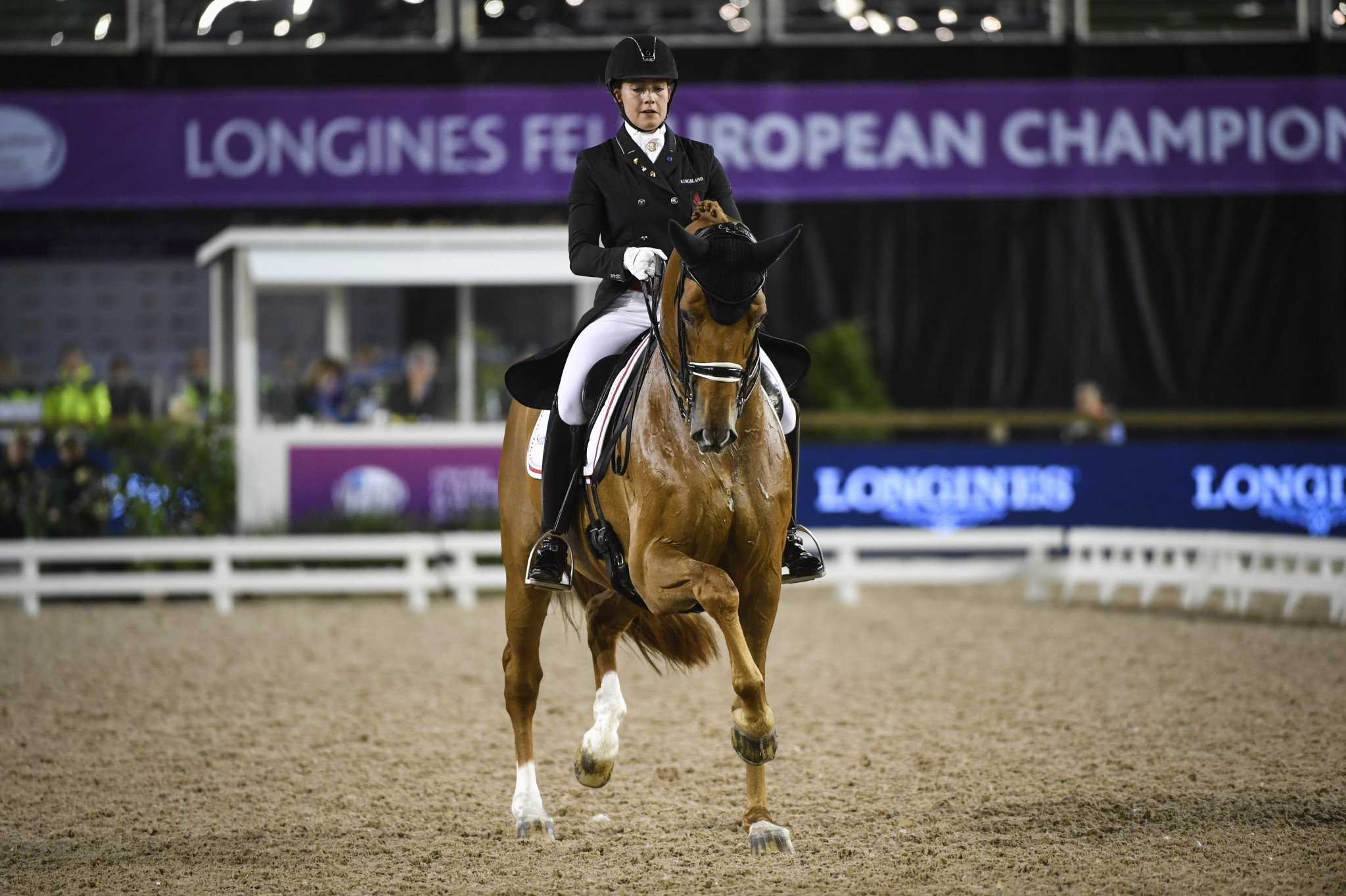 Dufour rides to home win at Dressage World Cup in Herning