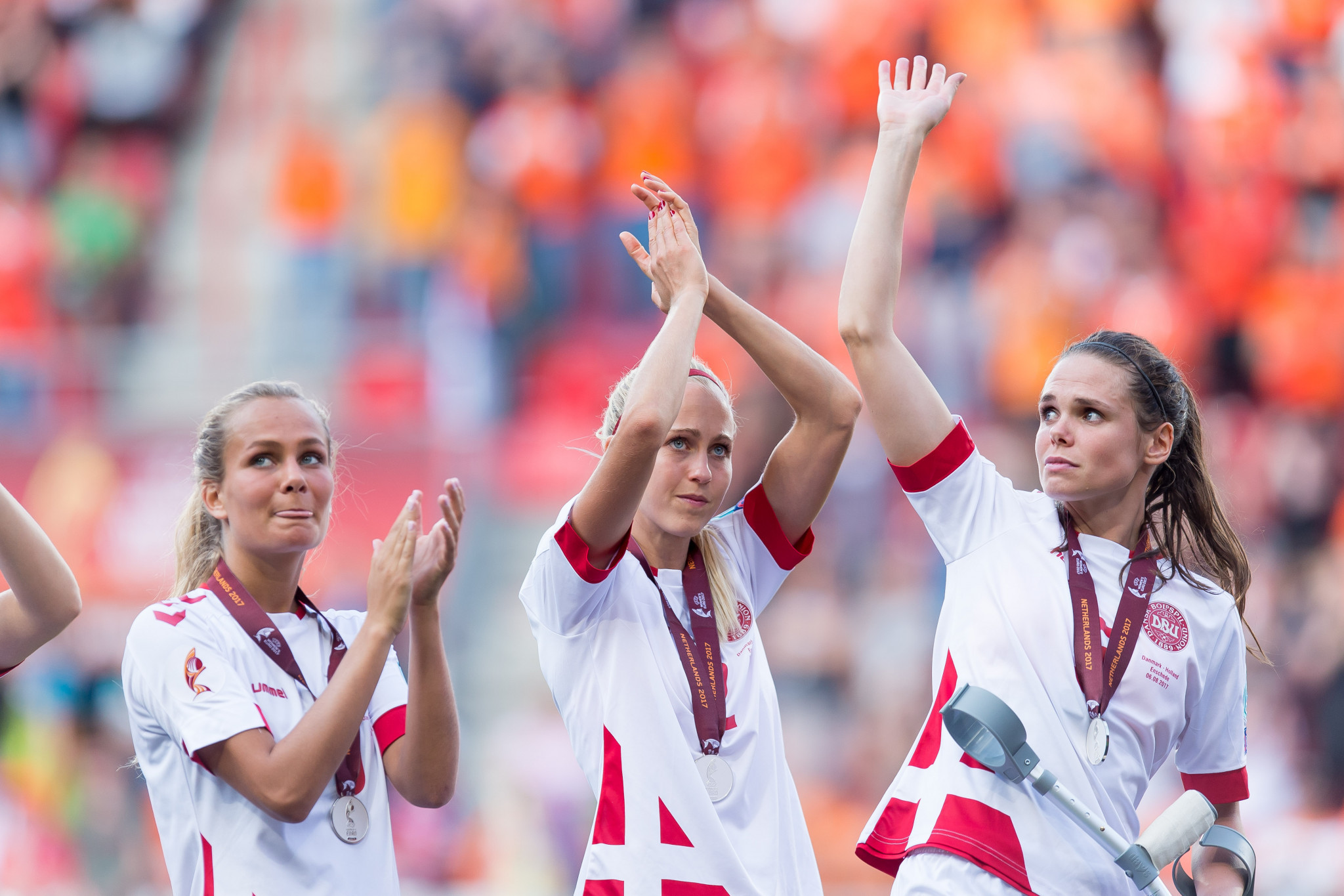 Denmark's women's team to play Croatia after agreeing partial pay resolution