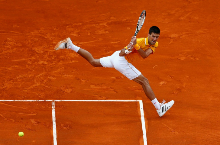 Eight-time Grand Slam winner Novak Djokovic is one of Peace and Sport's many 'champions for peace'