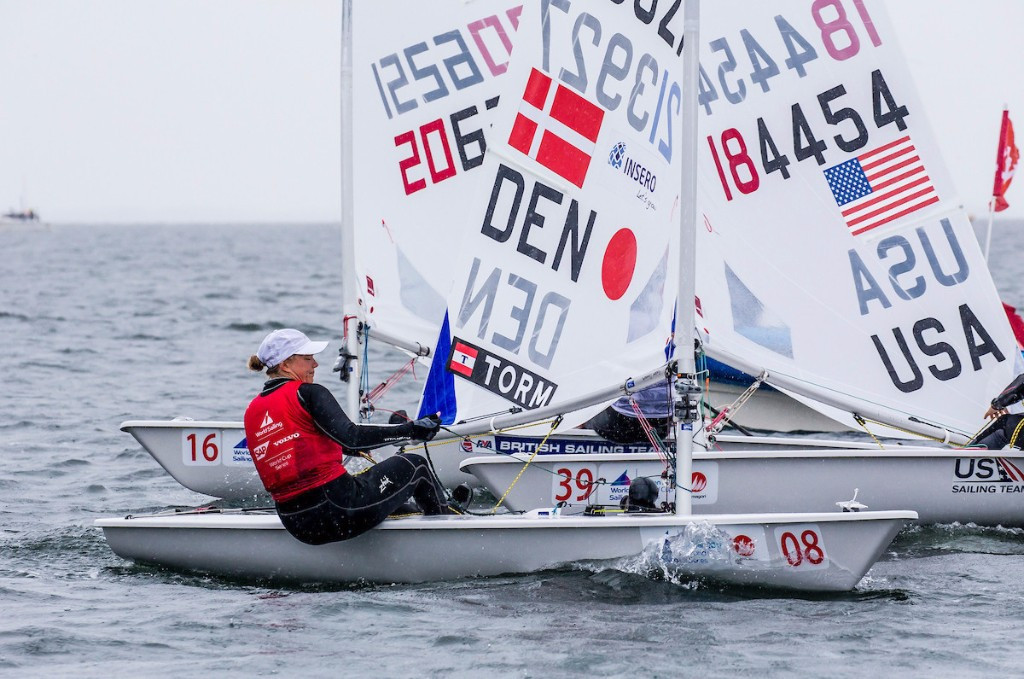 Rindom wins dramatic laser gold medal on final day at Sailing World Cup
