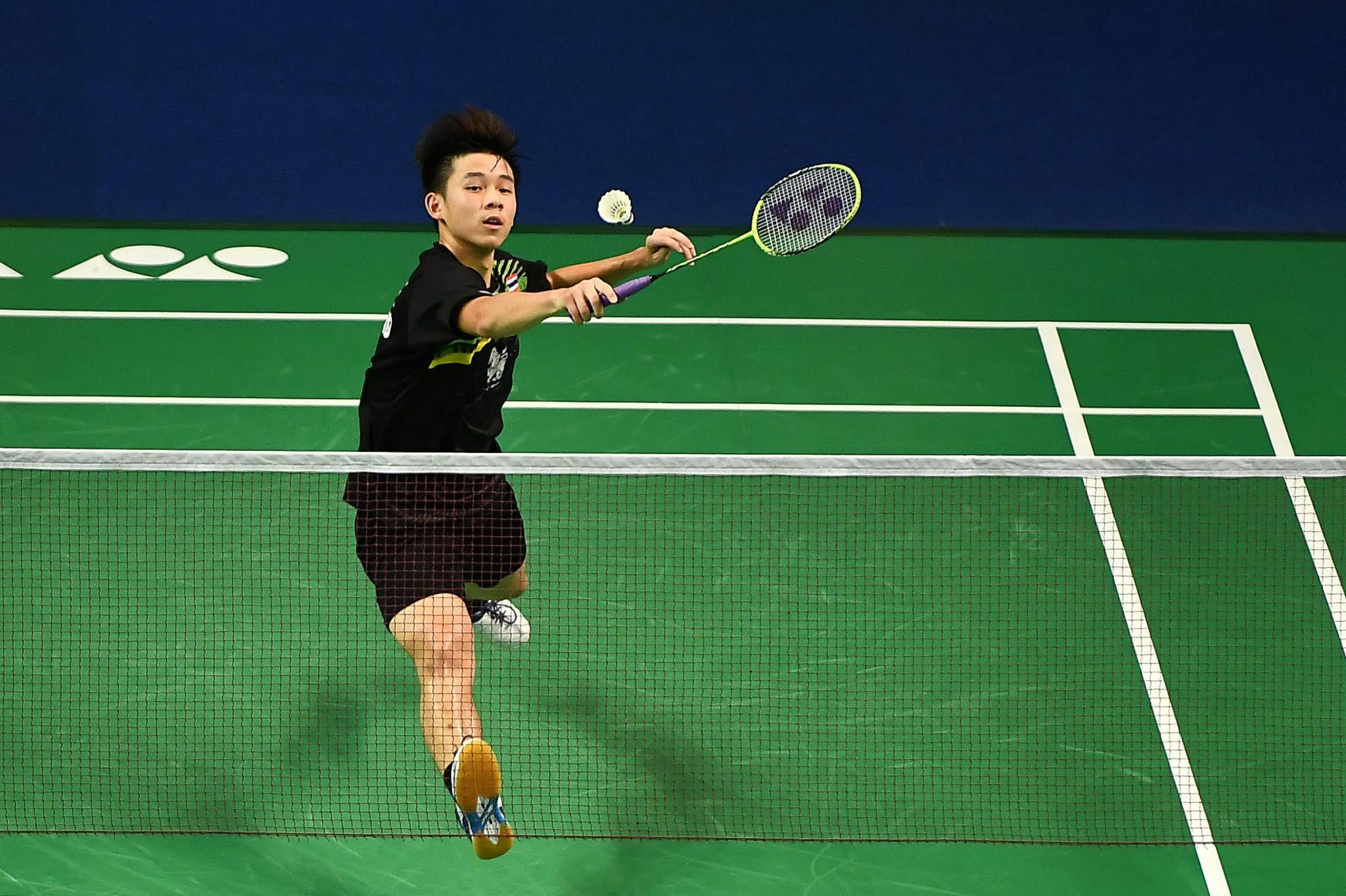 Thailand's Kunlavut Vitidsarn won the men's singles final ©Getty Images