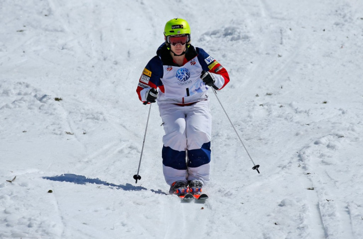 American mogul skier Hannah Kearney will be on hand to nurture the young athletes