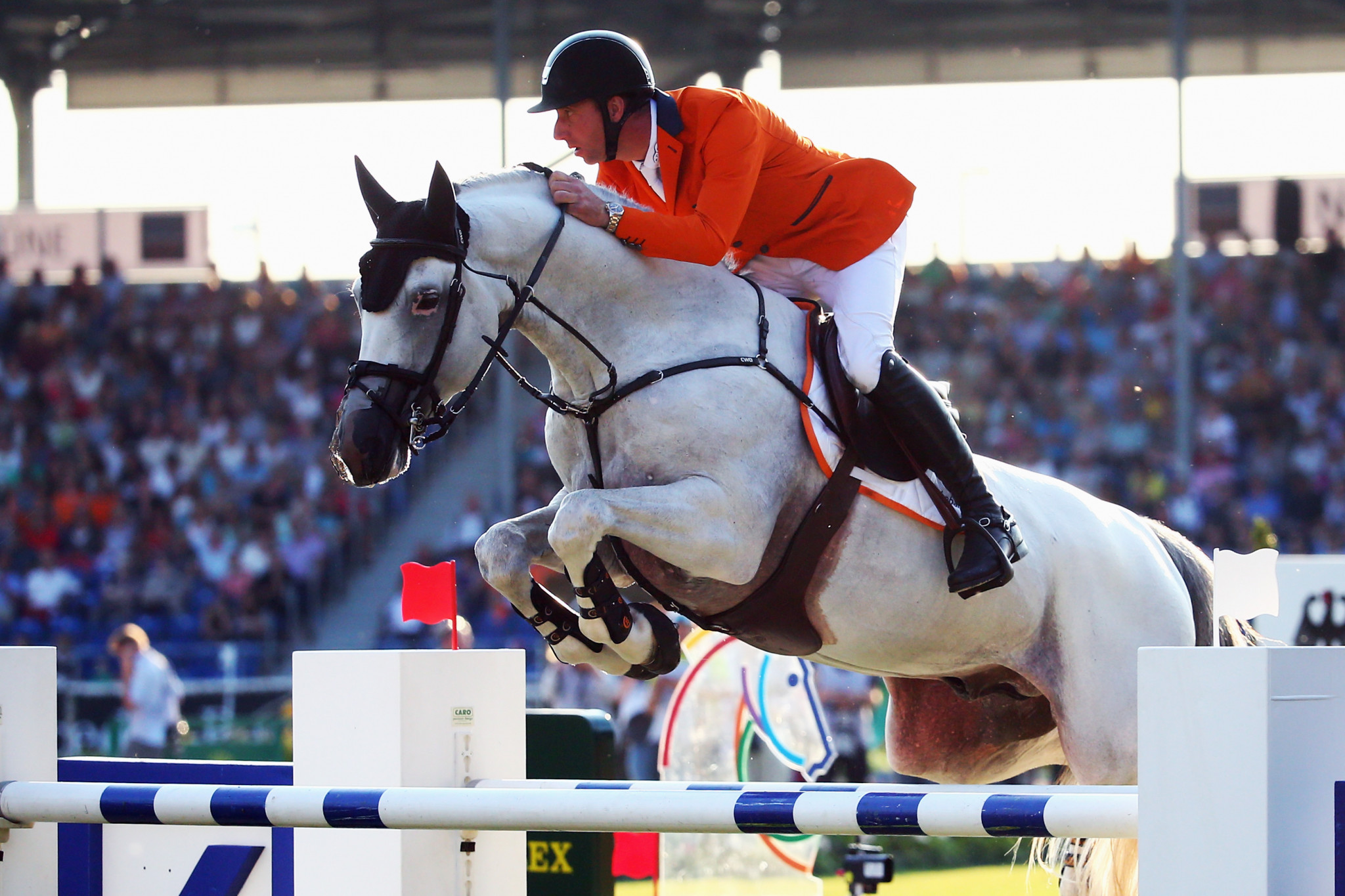 Vrieling wins jump-off at FEI World Cup Jumping Western European League