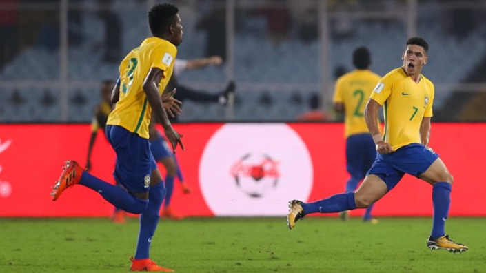 Brazil come from behind to reach semi-finals of FIFA Under-17 World Cup