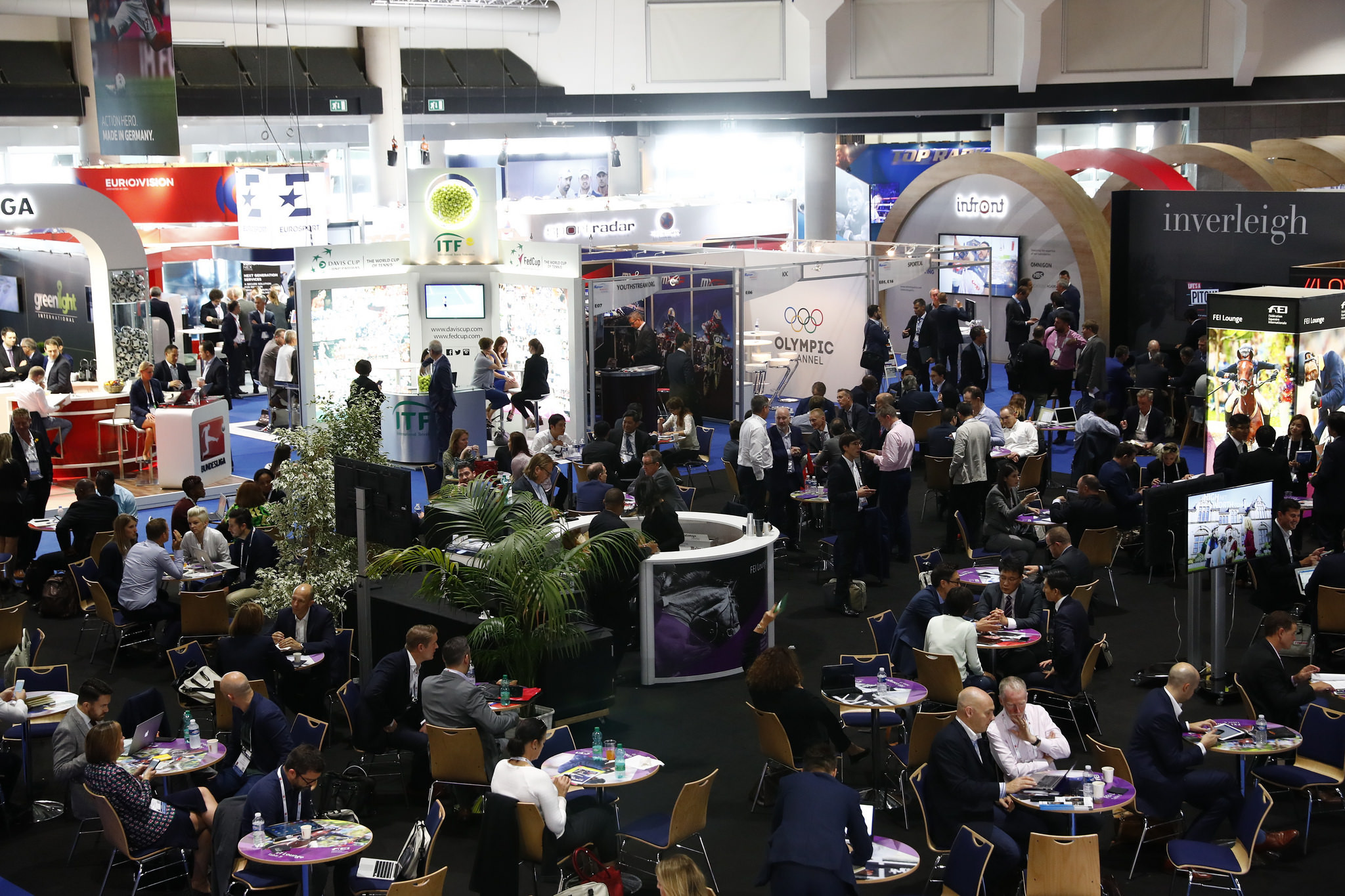 The SPORTELMonaco convention will be attended by a number of executives from companies in the sports media and marketing industry as they look at future trends in broadcasting and social media ©SPORTEL