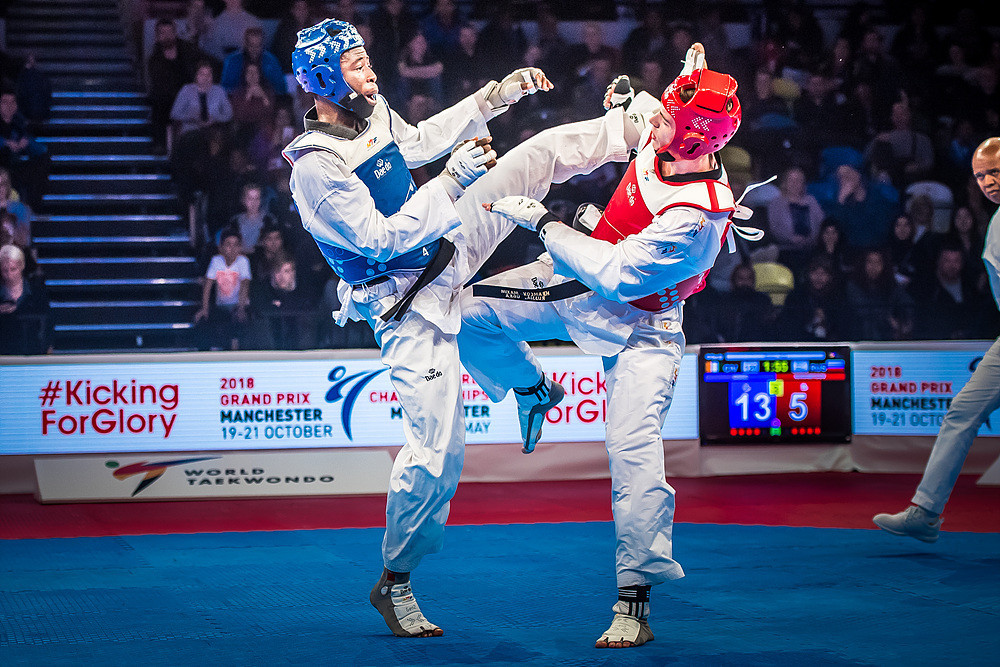 The Ivorian proved too strong for his Russian opponent in claiming a 14-11 victory at the Copper Box Arena ©World Taekwondo