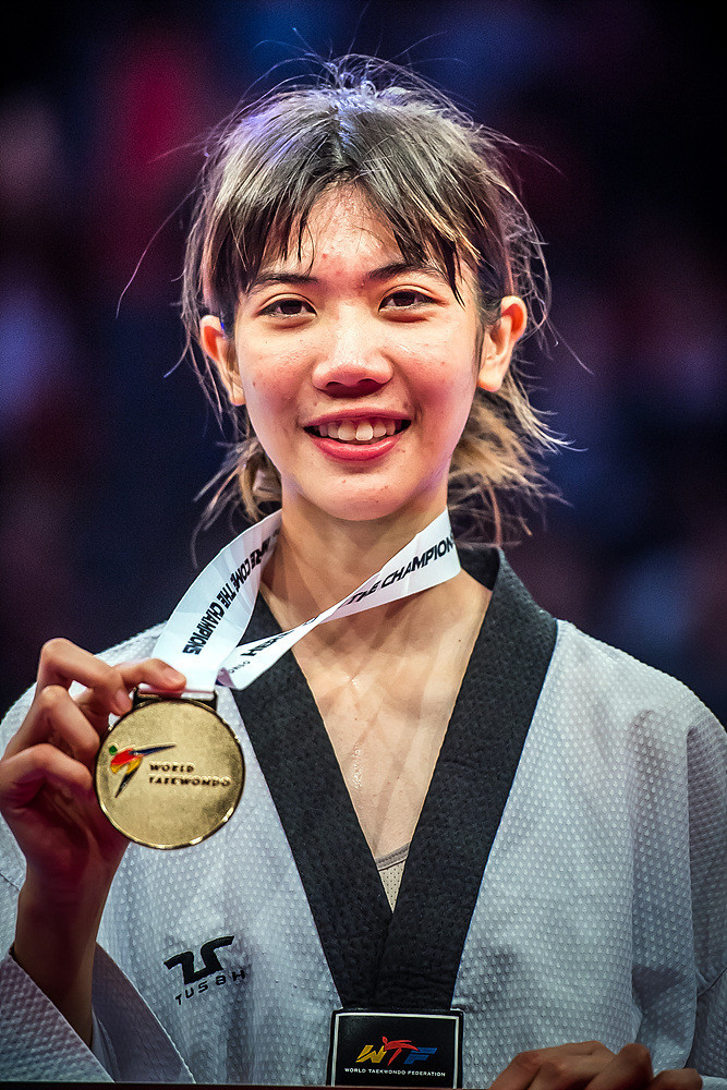 It secured her a much-coveted gold medal ©World Taekwondo