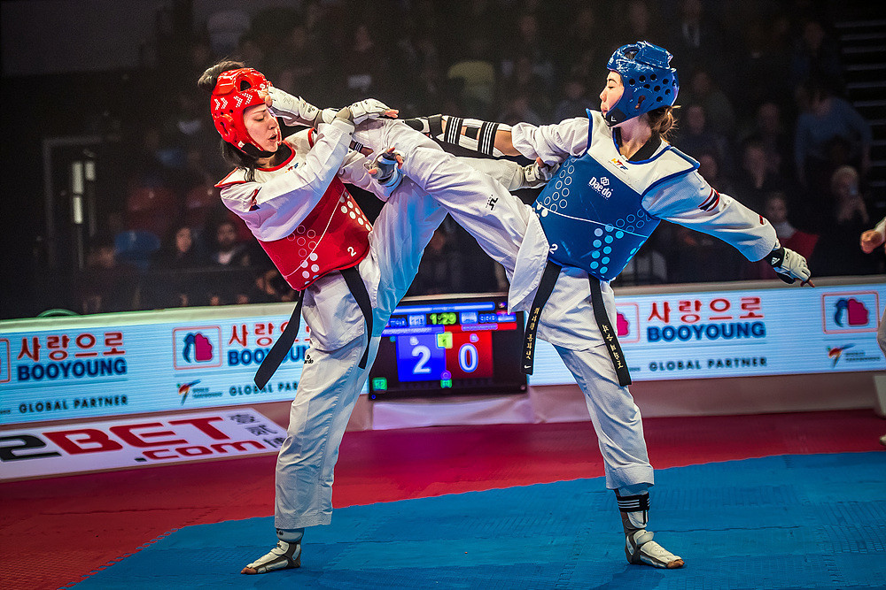 Wongpattanakit, the 2015 world champion at under 46kg, was dominant throughout on her way to a convincing 44-6 win ©World Taekwondo