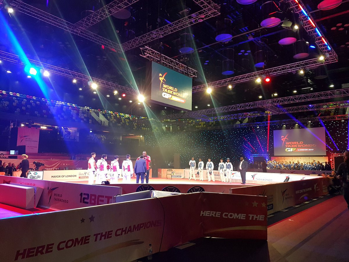 The 2017 World Taekwondo Grand Prix series is due to conclude in Abidjan in Ivory Coast on December 2 and 3 ©jackkungus/Twitter