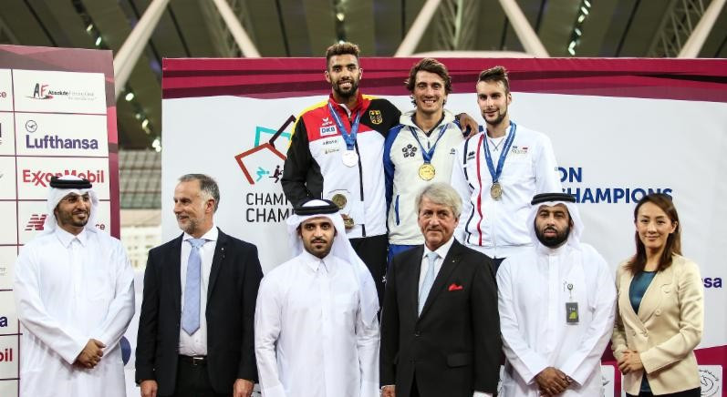 De Luca takes men's title at UIPM Champion of Champions event in Doha