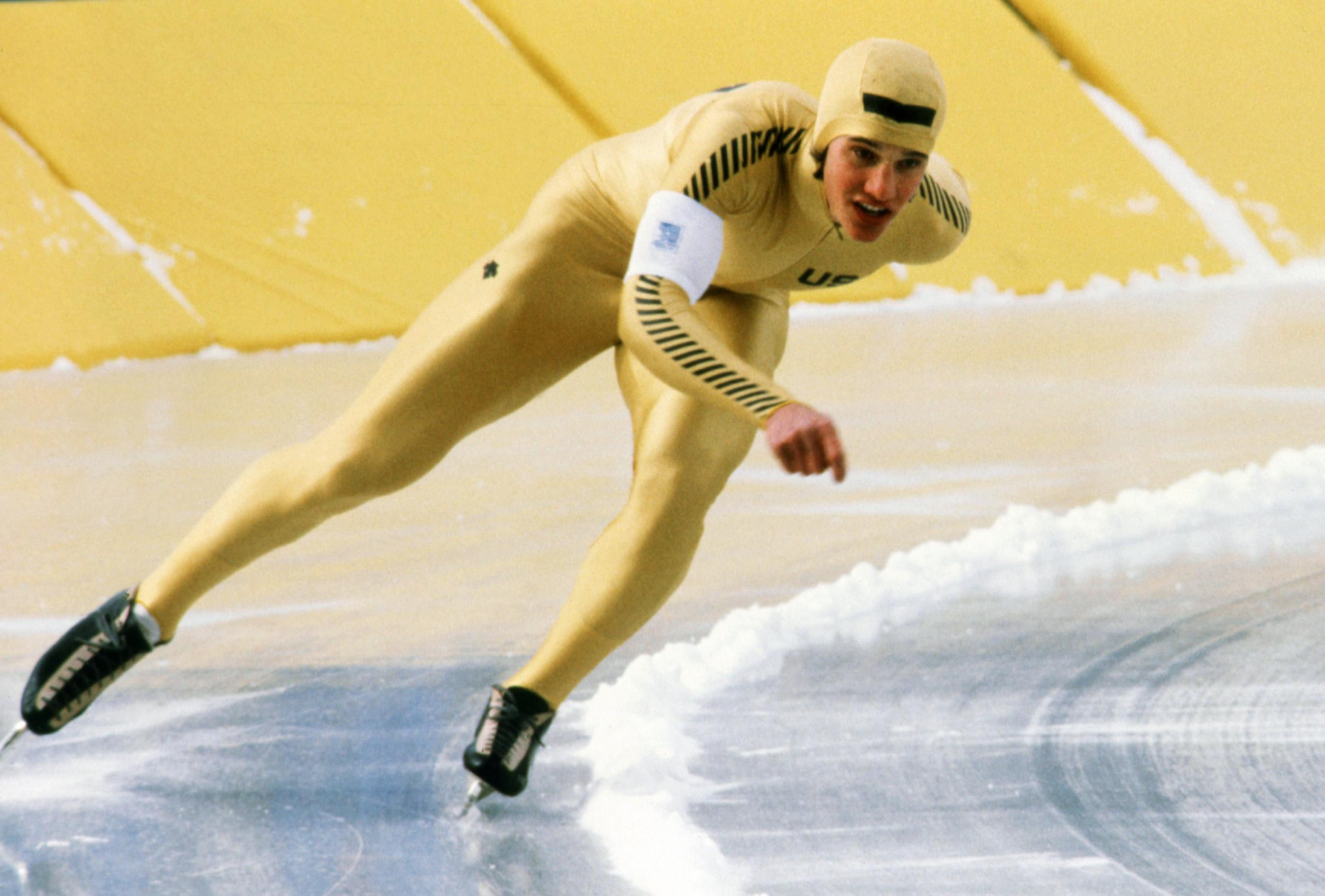 Five-time Olympic speed skating gold medallist and multiple world champion Eric Heiden is one of the Park City-based members of the Committee ©Getty Images
