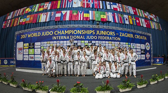 Japan beat Netherlands to mixed team event gold at IJF Junior World Championships