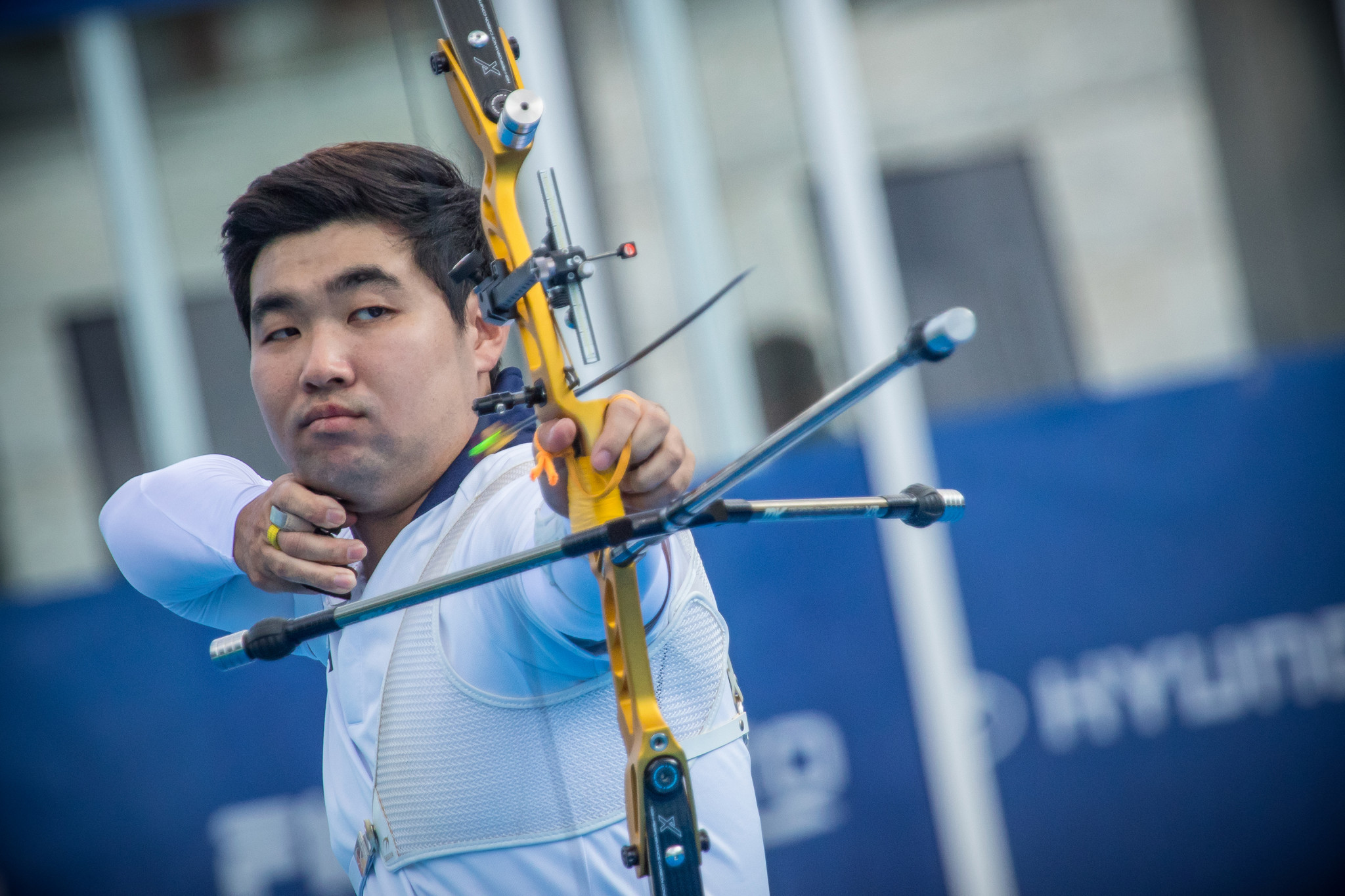 South Korea's Im Dong Hyun claimed the men's individual recurve title on the final day of action at the World Archery Championships in Mexico City ©Getty Images