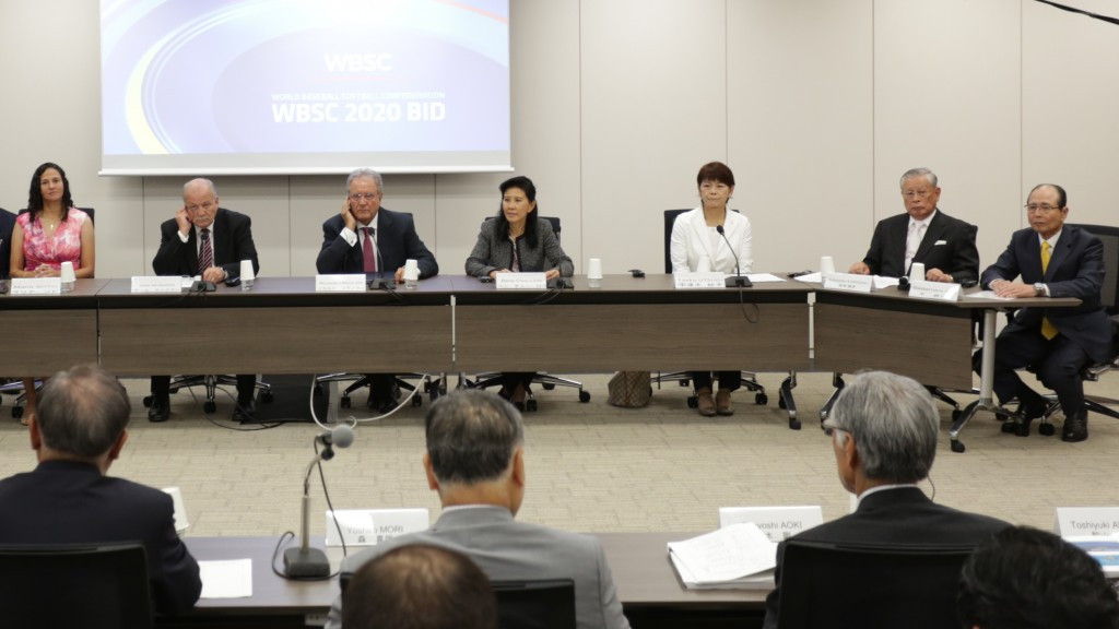 Baseball and softball was among the eight sports to present their case for Olympic inclusion to the Tokyo 2020 Additional Events Programme Panel in Tokyo last week